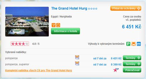 Grando Hotel Hurg